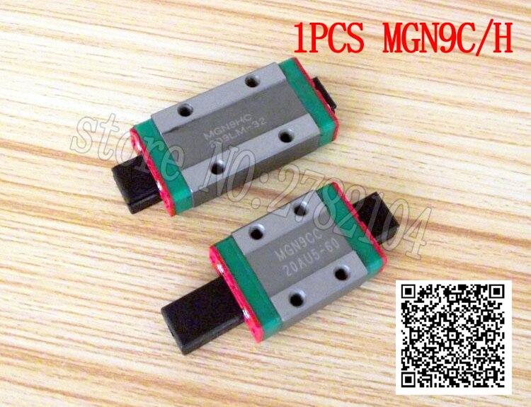MGN9 400mm MGN9H Miniature Rail Guide Slide Linear Sliding Block CNC Tool