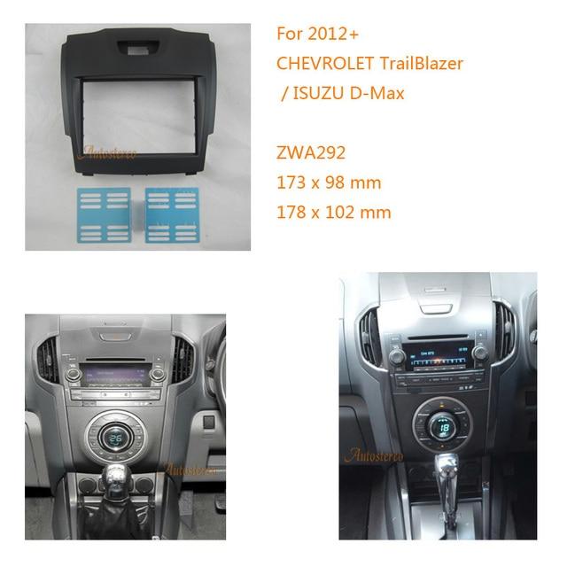 Zwnav 11 292 Car Radio Frame Fascia Stereo For Chevrolet Trailblazer