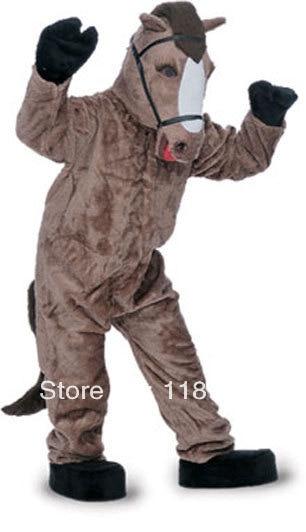 MASCOT häst mustang mascot kostym anpassad fancy kostym anime cosplay kit mascotte tema fancy dress karneval kostym