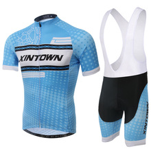 Size :S ~XXXL 2016 New Summer bicycle bike wear Cycling Jersey Set Quick Dry Cycling jersey shirt and bibs shorts Pants