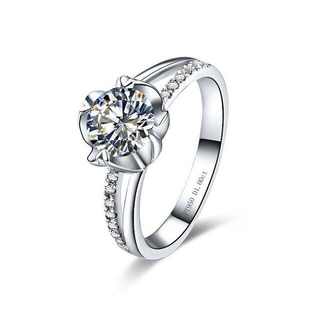 Vintage 0 3 Karat Schonheit Blume Form Sona Synthetischen Diamanten