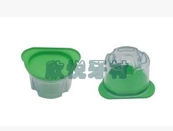 1pc New Dental Lab Equipment Plastic Duplicating Flasks