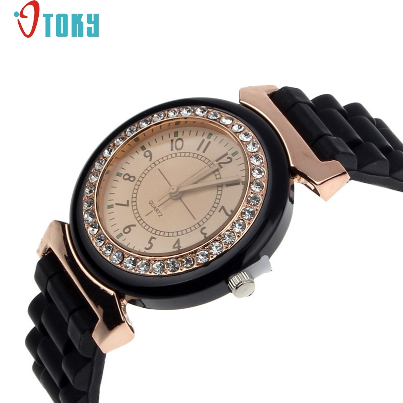 Excellent Quality OTOKY 2016 New Silicone Women Watch Casual Brand Dress Wristwatch Quartz Fashion Casual Watch Relogio Clock