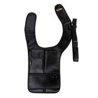 Mannen Security Holster Strap Messenger Carrier voor Linkerhand Outdoor Onderarm Oksel Schoudertas Telefoon pouch Inbraakpreventie Pouch