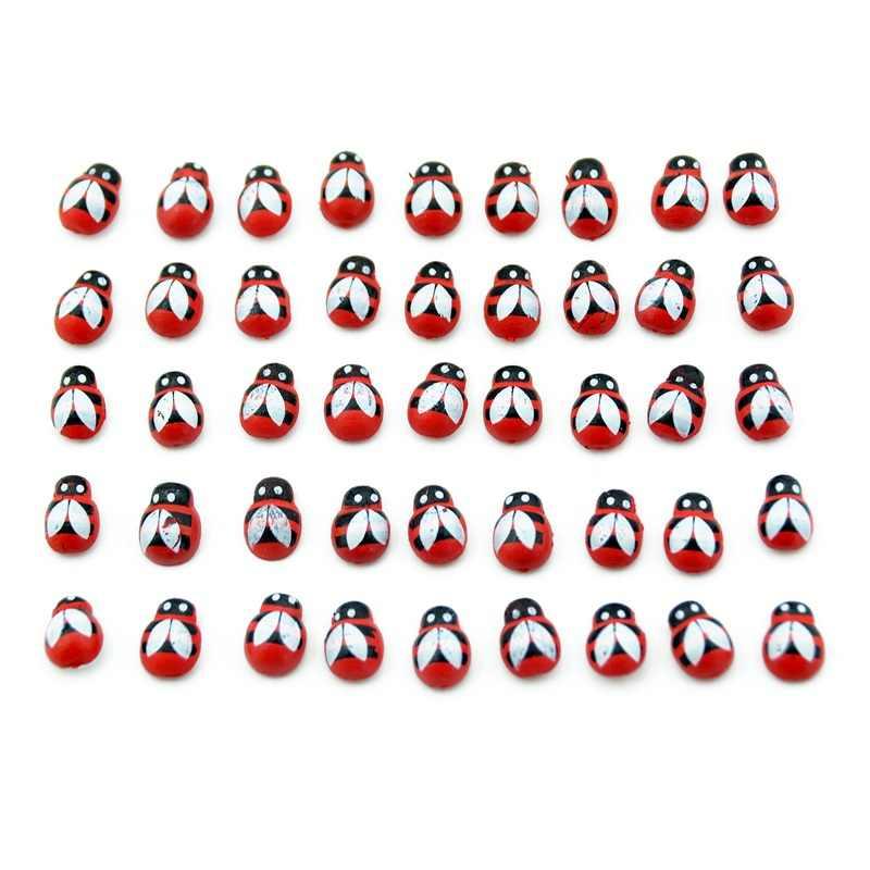 20 Pcs עץ מלאכותי בעבודת יד דבורת אופנה קיר מדבקת ילדי ילדי צבוע DIY קרפט חתונת בית מסיבת חג קישוט