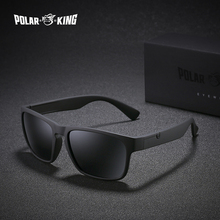 POLARKING Brand Polarized Sunglasses For Men Plastic Oculos