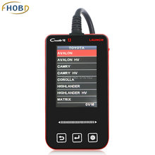 Launch X431 Creader VII 7 Code Scanner for Toyota Corolla Rav4 Yaris ABS Airbag Oil Function Auto Diagnostic Scan Tool Detector