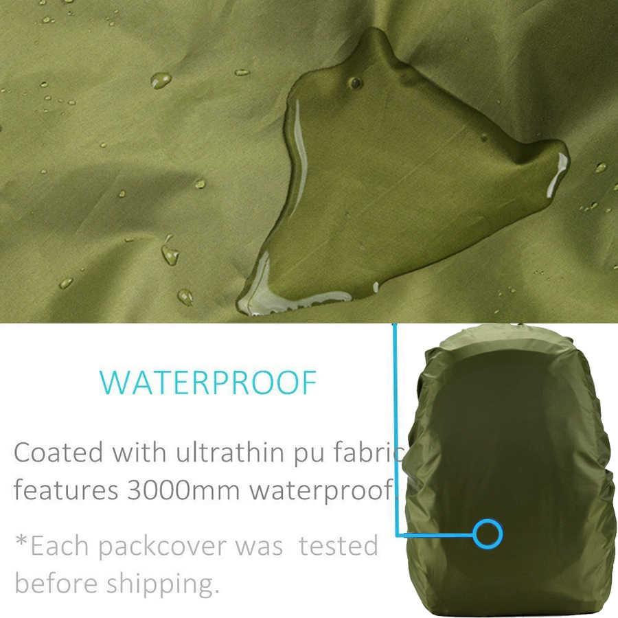 35L 45L 50L 60L 70L مقاوم للماء على ظهره غطاء للمطر غطاء مقاوم للمطر لحقيبة الظهر حقيبة ظهر للسفر التخييم في الهواء الطلق تسلق