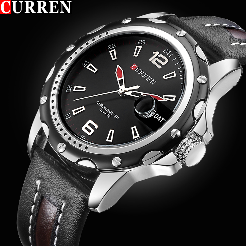 CURREN Luxury Top brand Quartz-Watch Men Casual Business JAPAN Analog Watch Relogio Masculino gift sports Wristwatch