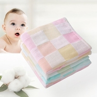 27x50cm Cotton Children's Household Washcloth Baby Absorbent Face Towel Saliva Cotton Handkerchief Child Birthday Present