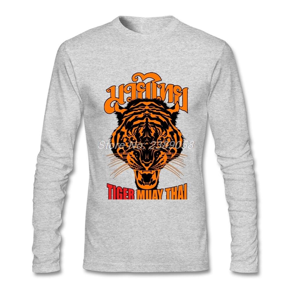 Men T Shirt Boxinger 2017 Fashion Tiger Muay Thai Tee Shirts Custom