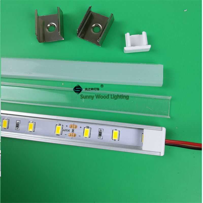 2pcs/lot 12V 50cm Led Bar Light  ,7W/20inch Led Cabinet 5630 Hard Strip ,led  Linear Strip For Closet ,bookcase,cupboard,mirror