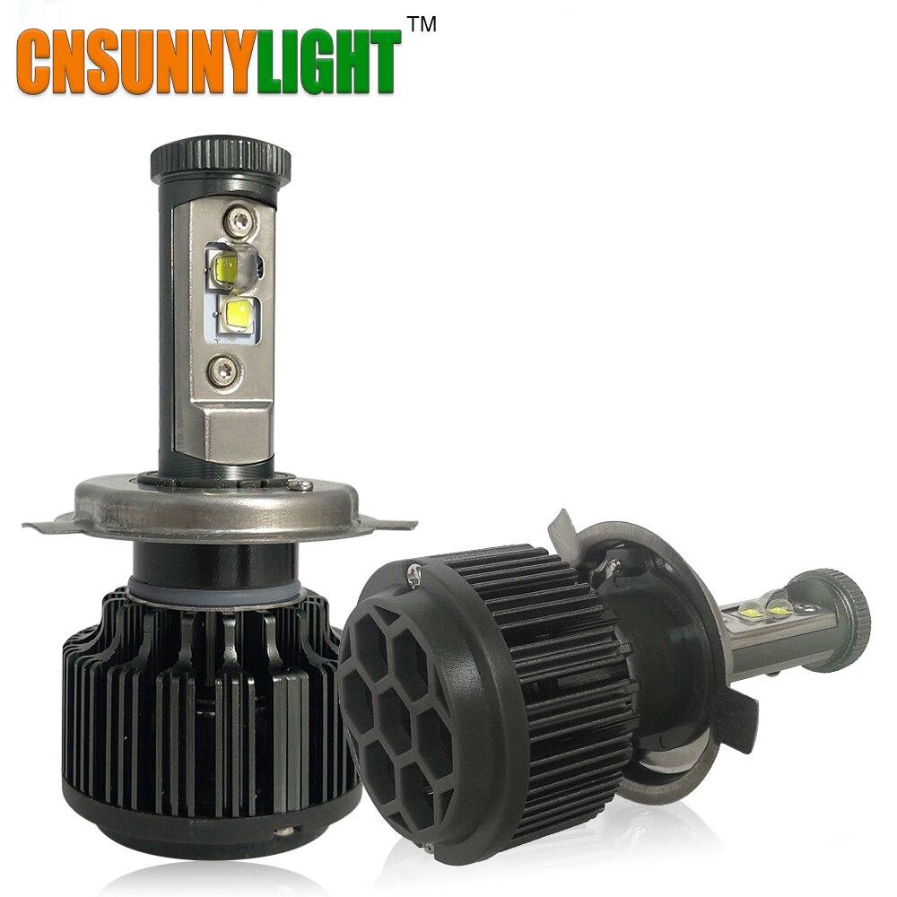 ФОТО Car Headlight LED 8000LM H4 H7 H8 H11 9005 HB3 9006 HB4 H1 H3 880 H13 9007 White Light Kit DRL Fog Lamp Bulbs Anti-Dazze Beam