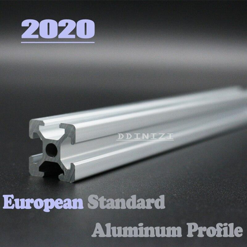 100 150 200 250 300mm Europäischen Standard Eloxiert Linear Schiene Aluminium Profil Extrusion 2020 Für Diy 3d Drucker Cnc Kaufe Jetzt