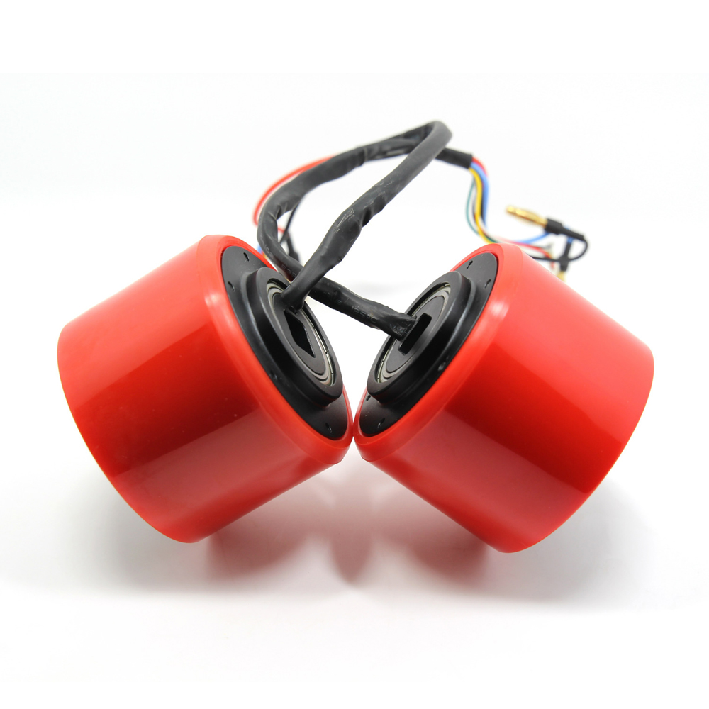 Roues de moteur électriques sans brosse de planche à roulettes de 75mm 83mm Kits roues de moteur électriques pour planche à roulettes Longboard e-skateboard - 6