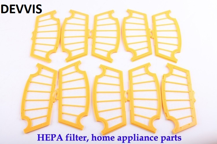 (For A320,A325,A330,A335,A336,A337,A338) Robot Vacuum Cleaner HEPA Filter, 10pcs/ pack, Cleaning Tool Replacement Parts for a320 a325 a335 a336 a330 a338 robot vacuum cleaner side brush 10pcs pack cleaning tool replacement parts