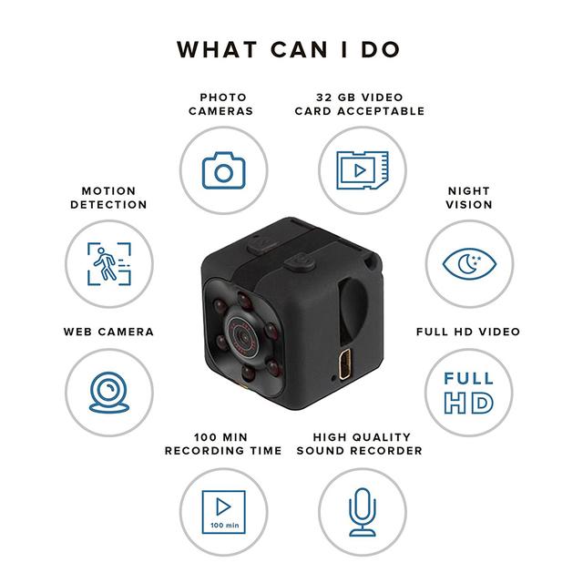 Mini Hidden Spy Cam
