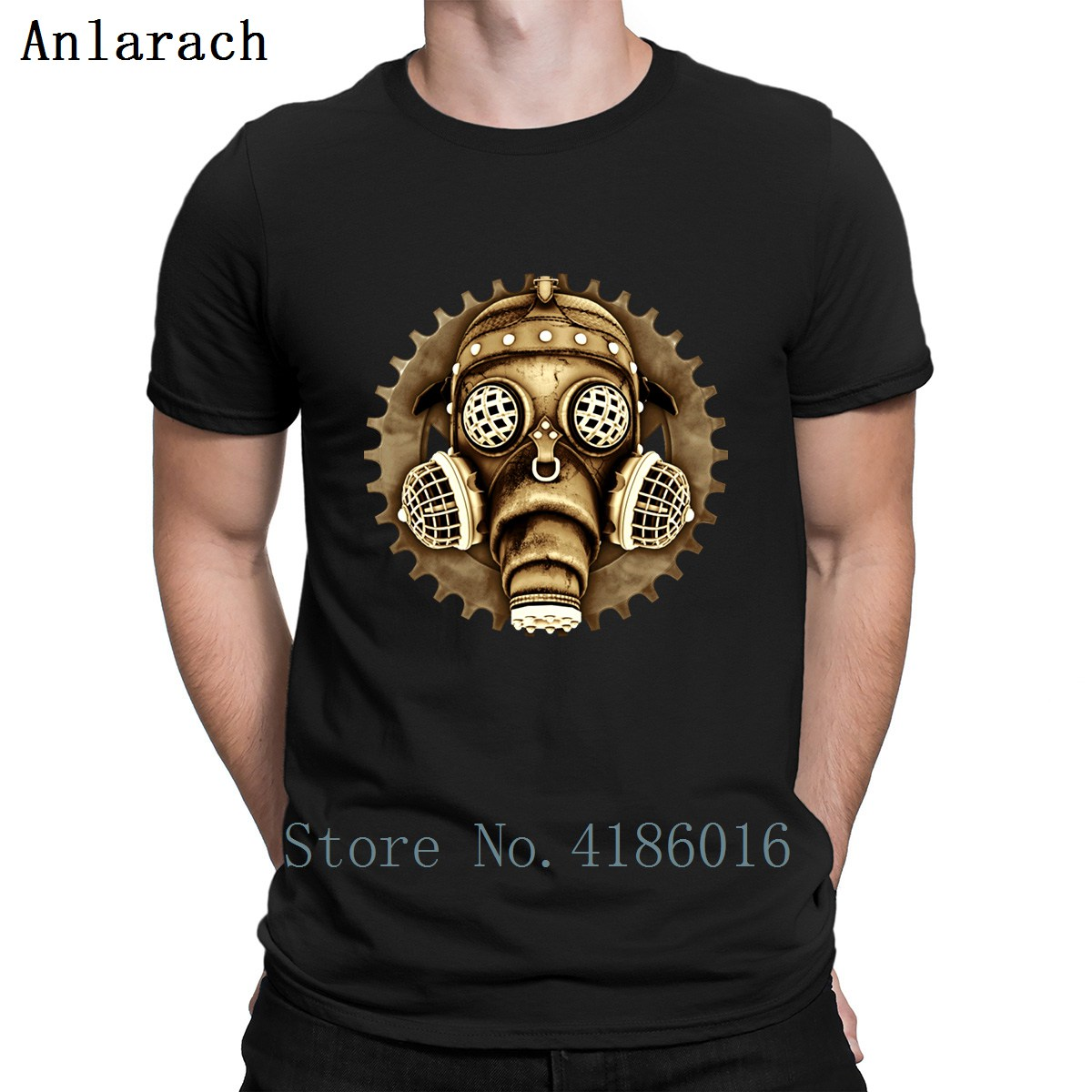 Back To Search Resultsmen's Clothing 100% Cotton O-neck Custom Printed Men T Shirt Dubstep Retro Gas Mask Women T-shirt Durable In Use T-shirts