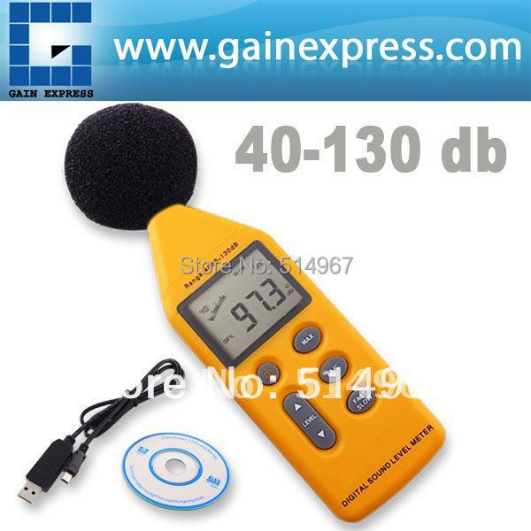Professional Handheld 5-Range Digital Sound/Noise Level Meter with Analog Signal Output & USB Port 40~130 dB Decibel брошь нечегонадеть нечегонадеть mp002xu0e074