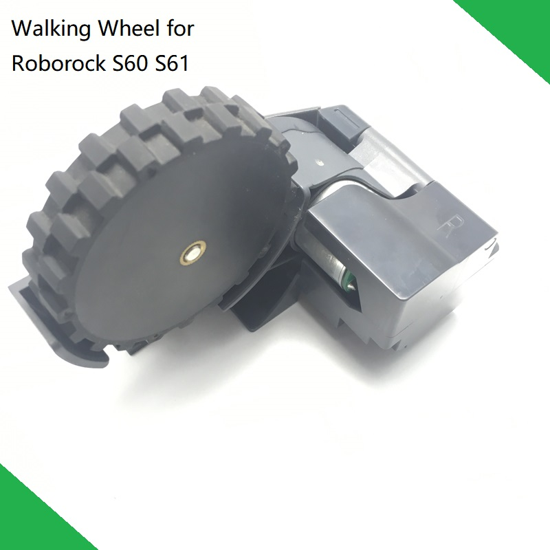 Original Traveling Wheel Module Right and Left Spare Parts Wheel for XIAOMI Roborock S60 S61