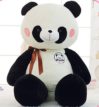 kawaii 120cm soft toy Stuffed panda doll Toys for girls Gifts  Plush Toys dolls stuffed animals doll for valentines day gift cute 45cm stuffed soft plush penguin toys stuffed animals doll soft sleep pillow cushion for gift birthady party gift baby toy