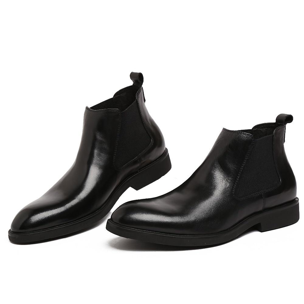 Popular Black Dress Boots Men-Buy Cheap Black Dress Boots Men lots ...