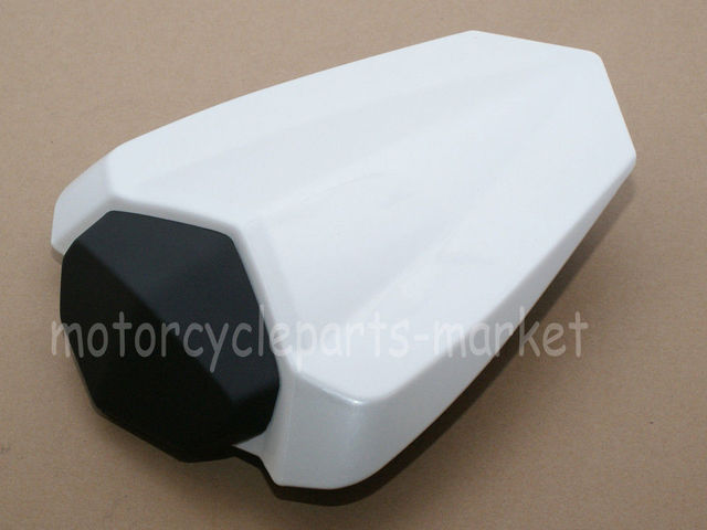 Pearl White Rear Seat Cover Cowl Solo Fairing case for YAMAHA YZF1000 R1 2009-2014