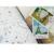 6 hojas/porción de calendario de papel etiqueta engomada DIY scrapbooking diario pegatina post it kawaii papelería juguete para los niños