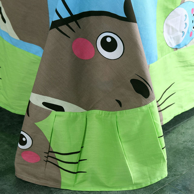 100% Cotton Totoro Cartoon Kids Bedding Set