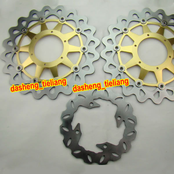 Motorcycle Front & Rear Brake Disc Rotors For Honda 2006 2007 CBR1000RR CBR1000 RR & 2000-2004 VTR 1000 RC51 SP1 кукла famosa нэнси и ее маленький питомец 3 в ассорт
