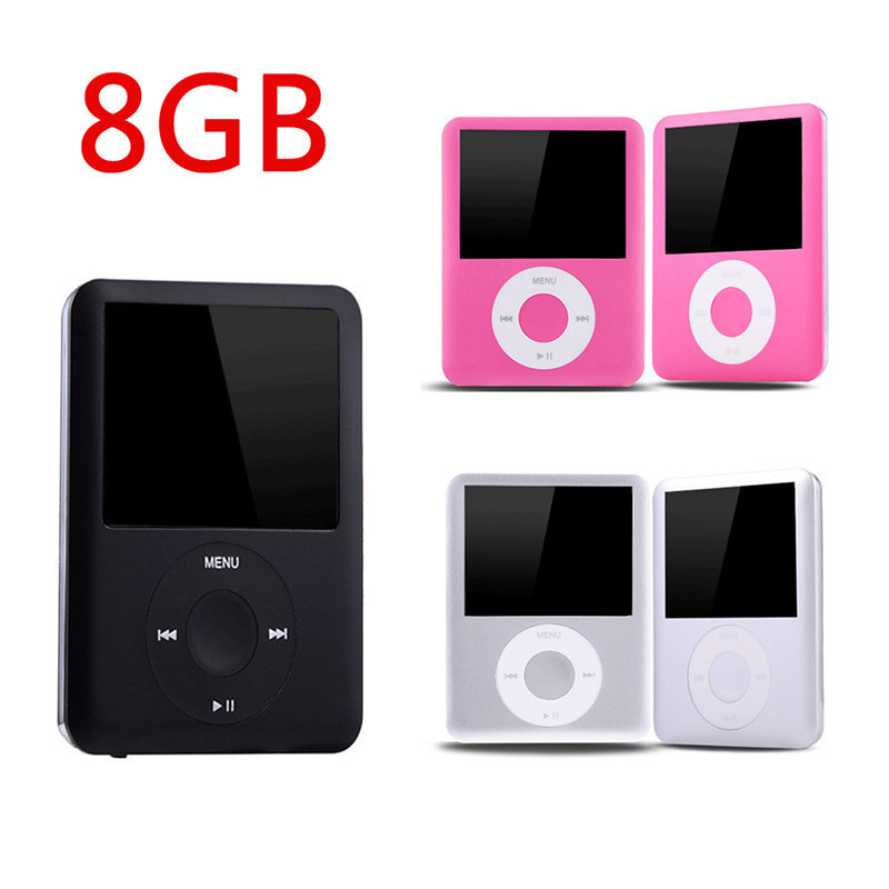 8GB Secret Mini MP3 Music Player With Ebook Radio and Recording Function 1.8 Inches LCD Display Small MP3 Audio Video Player
