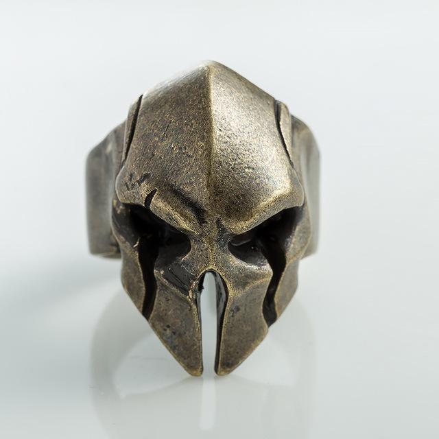 Vintage Spartan  Mask Ring
