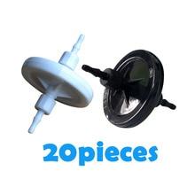 20 штук УФ-диск Чернила фильтр 10 мкм 45 мм для seiko Spectra konica xaar Infiniti принтер растворителя печатающей головки УФ pall диск фильтр