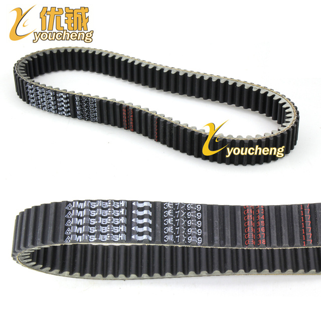 CF500 Engine Belt 36.7x939 CF188 Drive Belt CF500cc ATV Parts UTV500 Belt 939 36.7 Double Tooth Belt 0180-055000 SX939