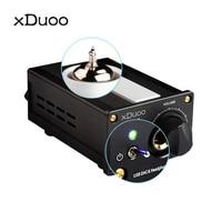 XDUOO TA 01B 12AU7 Tubes Amplifier High Performance HIFI USB DAC Tube Headphone Amplifier