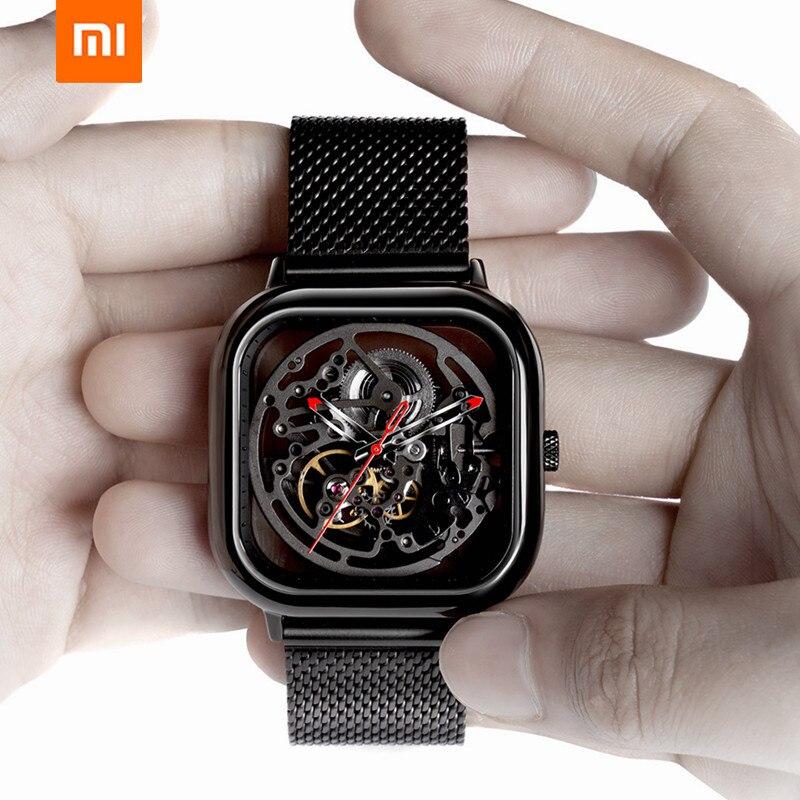 Xiao mi mi jia mi CIGA conception évidé montre-bracelet mécanique montre Reddot Winner inoxydable mode luxe montres automatiques - 2
