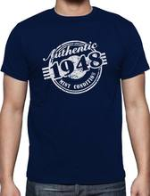 2019 Hot Sale 100 Cotton 70th Birthday Gift 1948 Mint Condition T Shirt Funny Tee