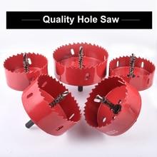 Hohxen 1pcs 75MM M42 Bi-Metal Holesaw Cutter Hole Saw Wood Drill Tooth Kit Core Drill Bit Cutting Kit Opener 80 85 90 95 100 mm цена