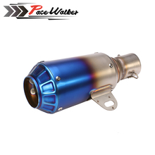 Universal Stainless Steel 51mm universal Motorcycle Slip On GP Exhaust Pipe System Silencer Muffler