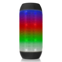 LED Bluetooth Speaker Portable PC Computer Colorful Wireless Speaker Super Bass Mini Stereo Speaker AUX TF