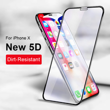 Full Body Film Tempered Glass For iPhone X 7 6 6S 8 Plus 5D Cover Front Steel Back Screen Protector
