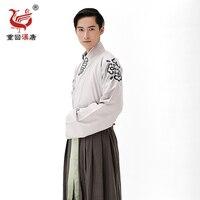 New Hot Perfetto High-end Cinese Tradizionale Costume Maschile studioso ministro Stesso stile standard di Intrattenimento Musiche E Canzoni Abbigliamento Uomo