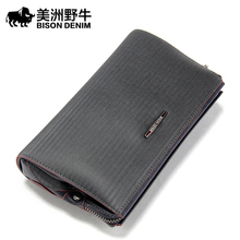 European And American Fashion Men Genuine Leather High Quality Famous Brand Clutch Bag High Quality Mens