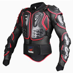 Image 3 - upbike Motorcycle Full body armor Protection jackets Motocross racing clothing suit Moto Riding protectors turtle Jackets S 4XL