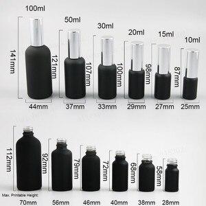 Image 3 - Матовый стеклянный флакон для духов с алюминиевым распылителем, 12x100 мл, 50 мл, 30 мл, 20 мл, 15 мл, 10 мл