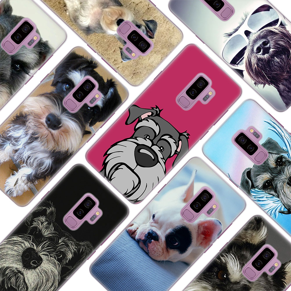 MOUGOL Cocker Spaniel Puppy Dog Style hard Clear Phone Case for Samsung S9 S9Plus S8 S8Plus S6 S7 edge S5 Note8 5 4
