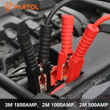 Partol 2 메터 500AMP 1000AMP 3 메터 1800AMP 차 Battery Jump Cable Booster Cable 비상 Terminals Jump Starter (납 Cable 밴 등 바(China)
