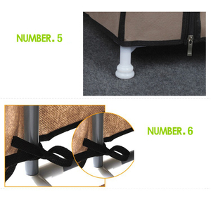 Image 5 - Magic Union Simple Shoe Rack Home Assembly Multilayer Dormitory Storage Shoes Rack Dustproof Shoes Shelf Cloth Shoes Cabinet