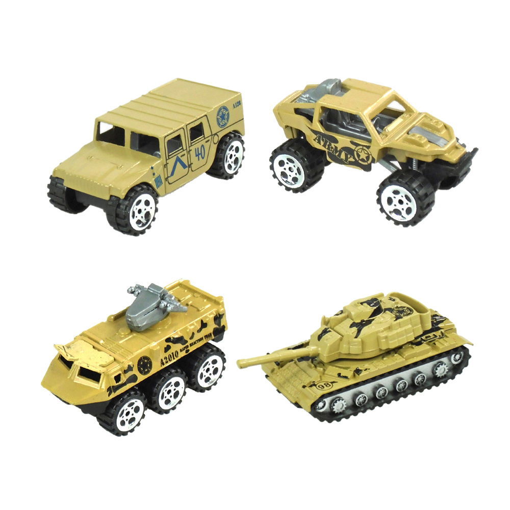 Alloy  Military Vehicle High Simulation Military Truck Toy Army Model Car