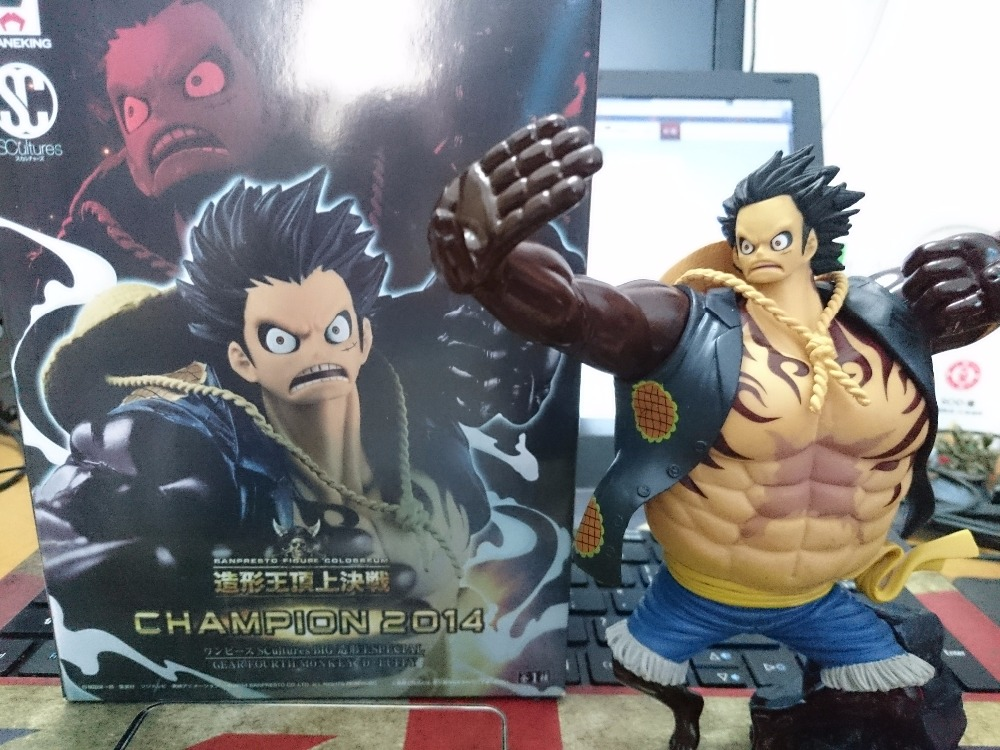 Anime One Piece Gear Fourth Monkey D Luffy SC Scultures 16CM PVC Action Figure Heroes Model anime one piece koa monkey d luffy gear fourth battle ver pvc action figure collection model kids toys doll 18cm